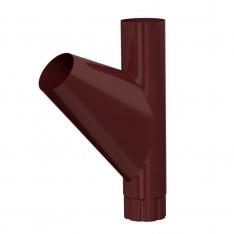 Тройник трубы D100 (ПЛД-02-8017-0.5)