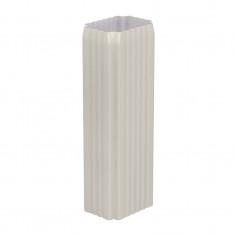 Труба водосточная 76х102х3000 (ПЛ-02-9010-0.5)