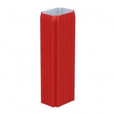 Труба водосточная 76х102х3000 (ПЛ-02-Р363-0.5)