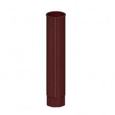 Труба водосточная D100х3000 (ПЛД-02-8017-0.5)