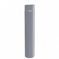 Труба водосточная D100х2000 (ПЛД-02-7024-0.5)