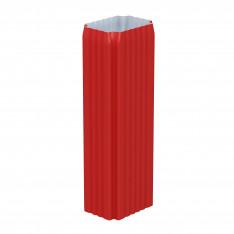 Труба водосточная 76х102х2000 (ПЛ-02-Р363-0.5)