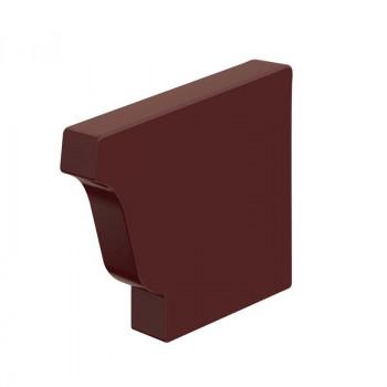 Заглушка желоба 120х86 правая (ПЭ-01-8017-0.5)