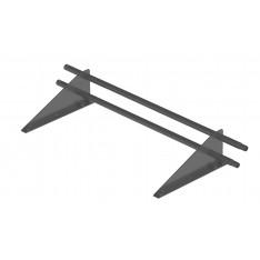 Снегозадержатель трубчатый дл. 1000 мм (7024) ROOFRetail