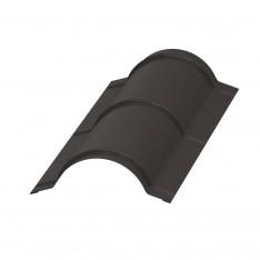 Планка конька круглого R110х2000 NormanMP (ПЭ-01-RR32-0.5)