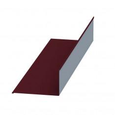 Планка примыкания верхняя 250х147х2000 NormanMP (ПЭ-01-3005-0.5)