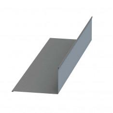 Планка примыкания верхняя 250х147х2000 NormanMP (ПЭ-01-9006-0.5)