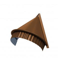 Заглушка конька круглого конусная (PURMAN-20-Argillite-0.5)