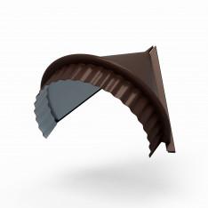 Заглушка конька круглого конусная (PURETAN-20-8017-0.5)