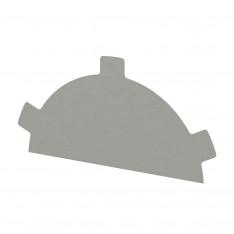 Заглушка конька круглого простая NormanMP (ПЭ-01-9002-0.5)