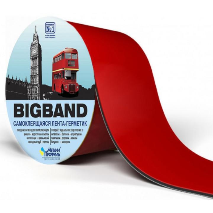 Лента герметизирующая BIGBAND Красный (0,1х3 м)