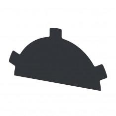 Заглушка конька круглого простая NormanMP (ПЭ-01-7024-0.5)