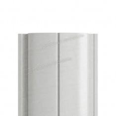 Штакетник металлический МП ELLIPSE-T 19х126 NormanMP (ПЭ-01-9006-0.5)