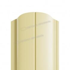 Штакетник металлический МП ELLIPSE-O 19х126 (ПЭ-01-1015-0.45)