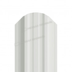 Штакетник металлический МП TRAPEZE-O 16,5х118 (ПЭ-01-9010-0.45)