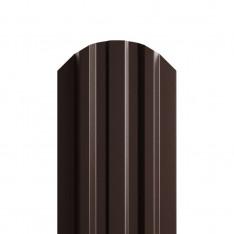 Штакетник металлический МП LАNE-O 16,5х99 (ПЭ-01-8017-0.4)