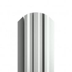 Штакетник металлический МП LАNE-O 16,5х99 (ПЭ-01-9003-0.4)