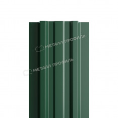 Штакетник металлический МП LАNE-T 16,5х99 (ПЭ-01-6005-0.4)