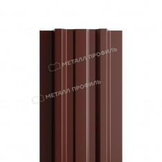 Штакетник металлический МП LАNE-T 16,5х99 (ПЭ-01-8017-0.4)