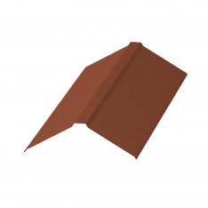 Планка конька плоского 150х150х2000 NormanMP (ПЭ-01-8004-0.5)