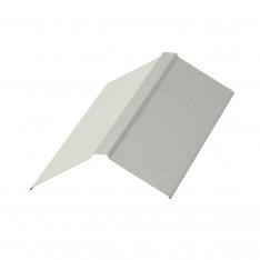 Планка конька плоского 150х150х2000 NormanMP (ПЭ-01-9002-0.5)
