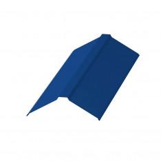 Планка конька плоского 120х120х2000 NormanMP (ПЭ-01-5005-0.5)