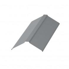 Планка конька плоского 120х120х2000 NormanMP (ПЭ-01-7004-0.5)