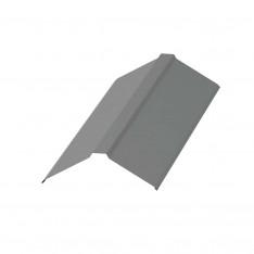 Планка конька плоского 120х120х2000 NormanMP (ПЭ-01-9006-0.5)