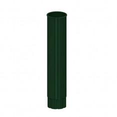 Труба водосточная D100х2000 (ПЛД-02-6005-0.5)